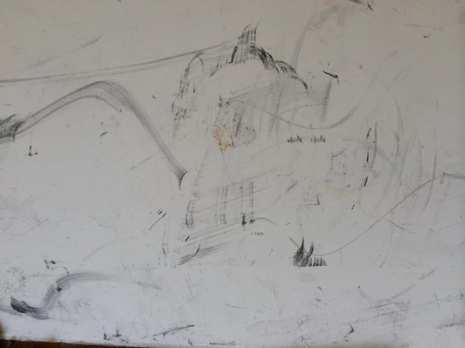 antropocene andrea_d'amore grafite carta_grafite calco