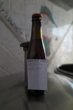 Prototipo birra di patata Turchesca