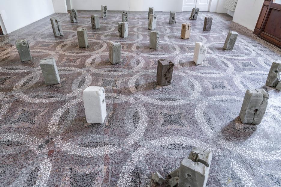 Installazione, Villa Romana Firenze, 2017