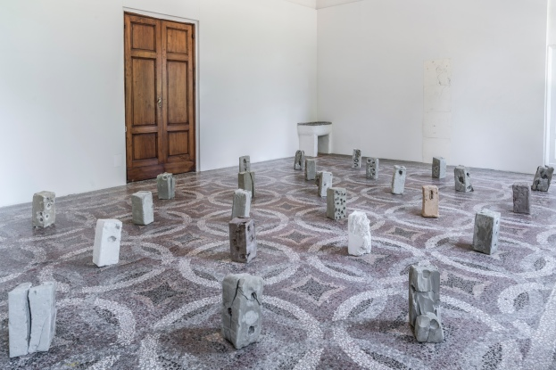 Installation to Villa Romana Firenze, 2017