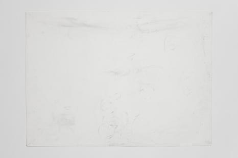 Sciatò restaurant, Seravalle Pistoiese.. Valentine's Day a couple, cotton paper, graphite, 77 x 57 cm