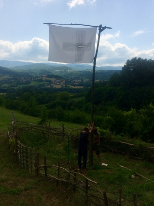 Bandiera nella Scialuppa di Dante